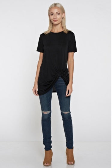Knot Top-Black