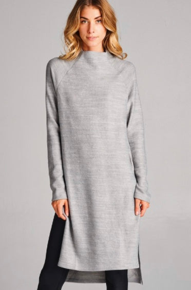 Mock Neck Tunic