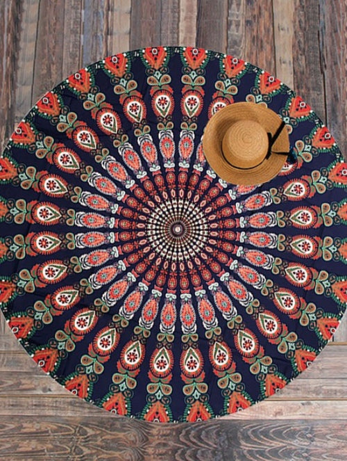 Hippie Beach Throw
