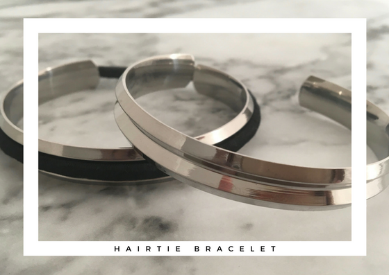 Angled Hair Tie Bangle