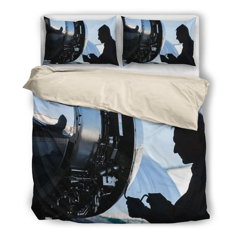 Image of Best Mechanical Aircraft Engineering - Bedding Set