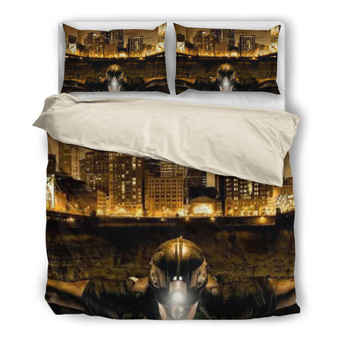 The King Of Coal Miner - Bedding Set