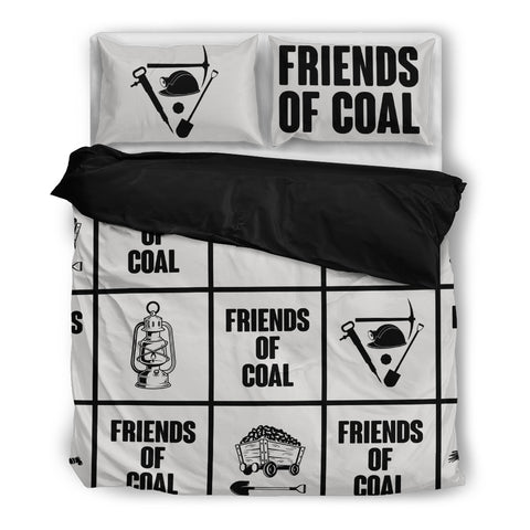 Image of Friends Of Coal Miner - Bedding Set