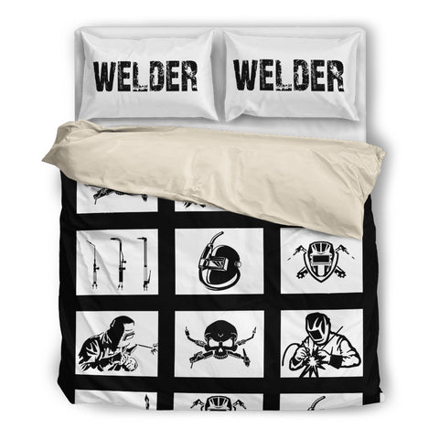 Image of Welder Bedding Set