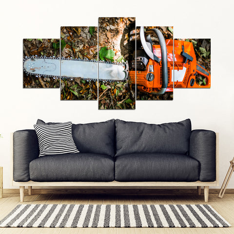 Image of Logger Tool Popular Framed Canvas