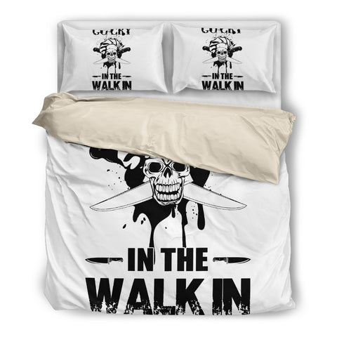 Image of Cook In The Walk In - Bedding Set