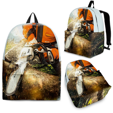 Super Cool Backpack Logger 3D Backpack