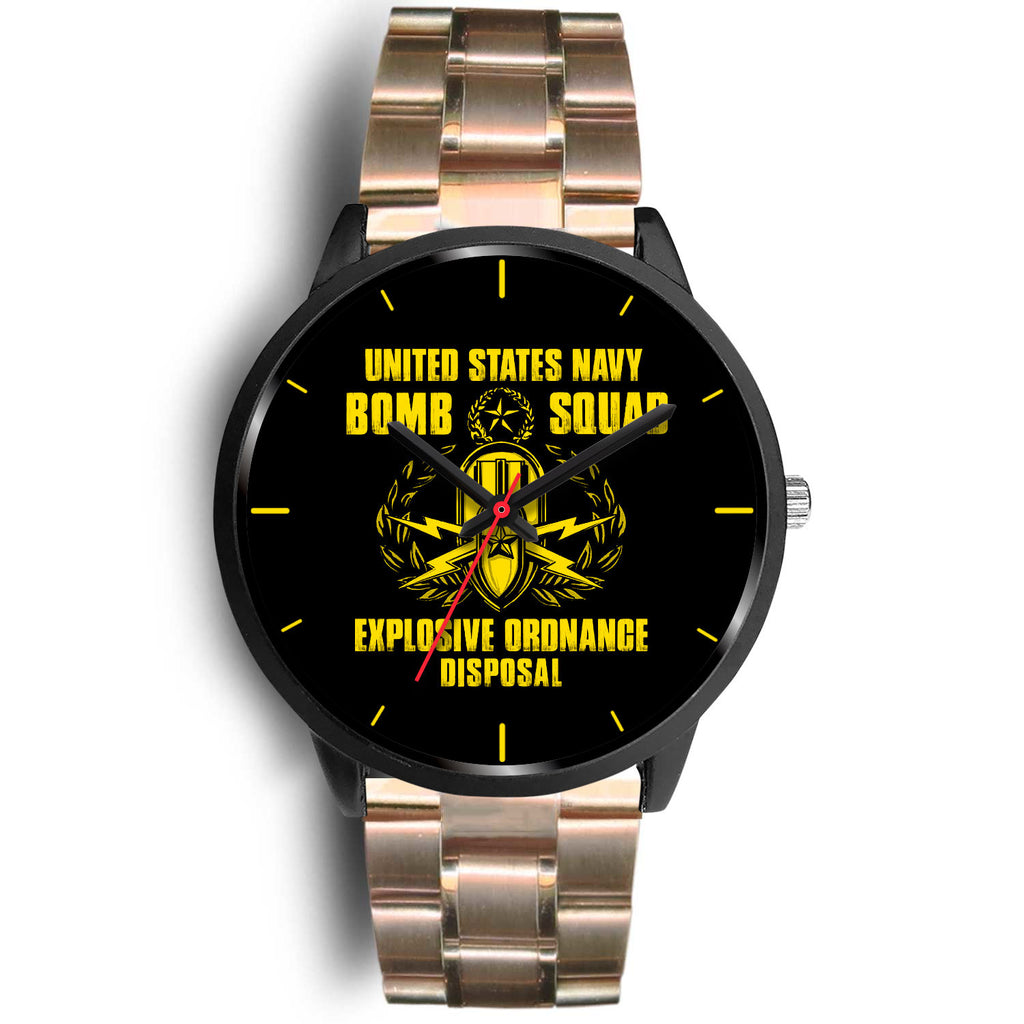EOD Tech United States Navy Bomb Squad Black Watch