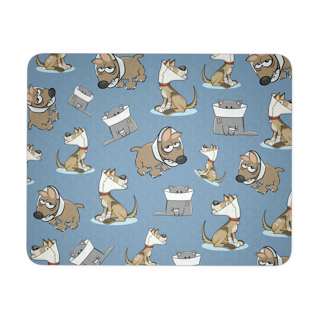 Vet Tech Animals Sisk Mousepad