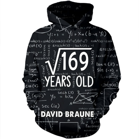 Personalized Age Teacher 3D Hoodie