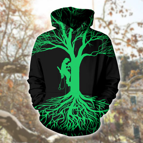 Image of Logger Green Life 3D Hoodies