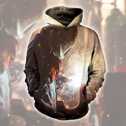 Welder The Light End Of The Road 3D Hoodies