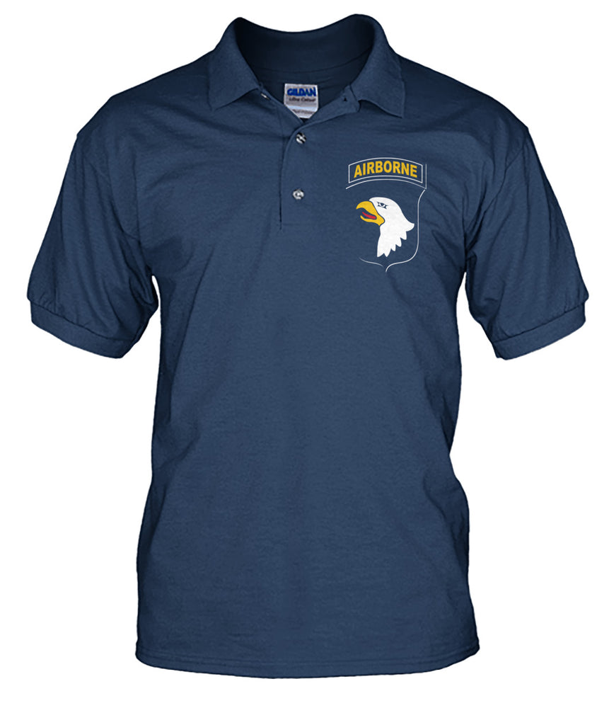 Paratrooper Bird's Head Polo T-Shirts