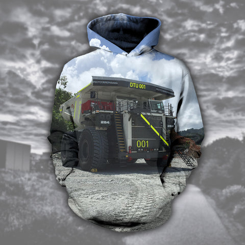 Heavy Equipment Operator LIE 3D Hoodies