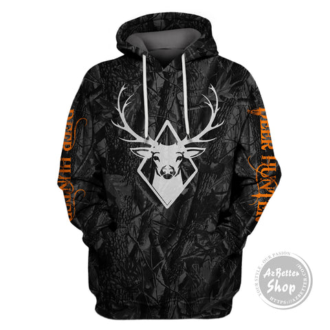 Image of Deer Hunting USA 3D Hoodie