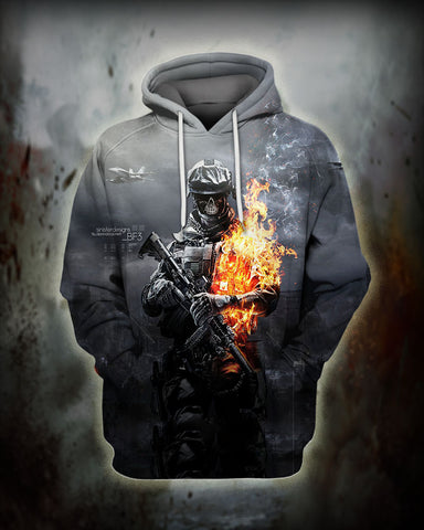 Image of Correctional Officer Fire Hoodie