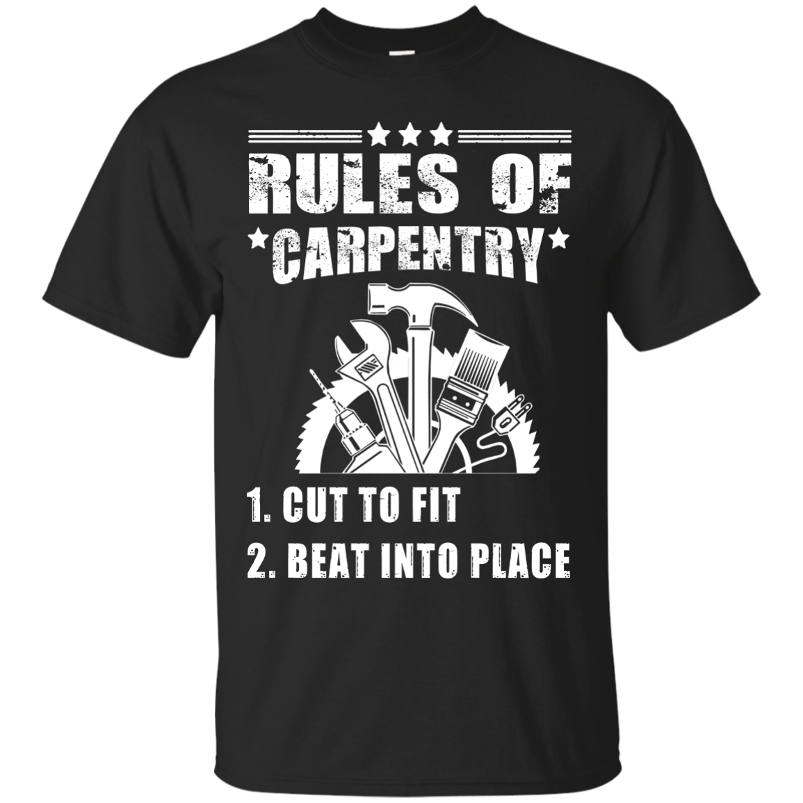 Carpenter Rules Of Carpentry T Shirts