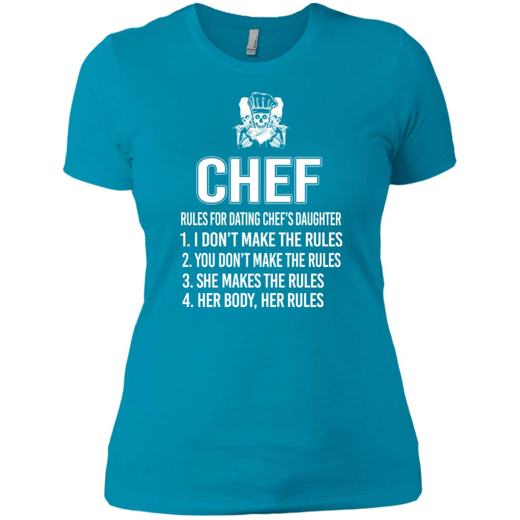 Rules for dating a chef
