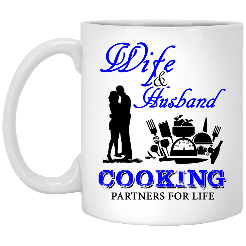 Wife and husband Cooking mug