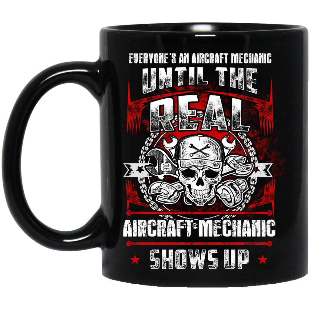 Everyone's an Aircraft Mechanic until the real mug