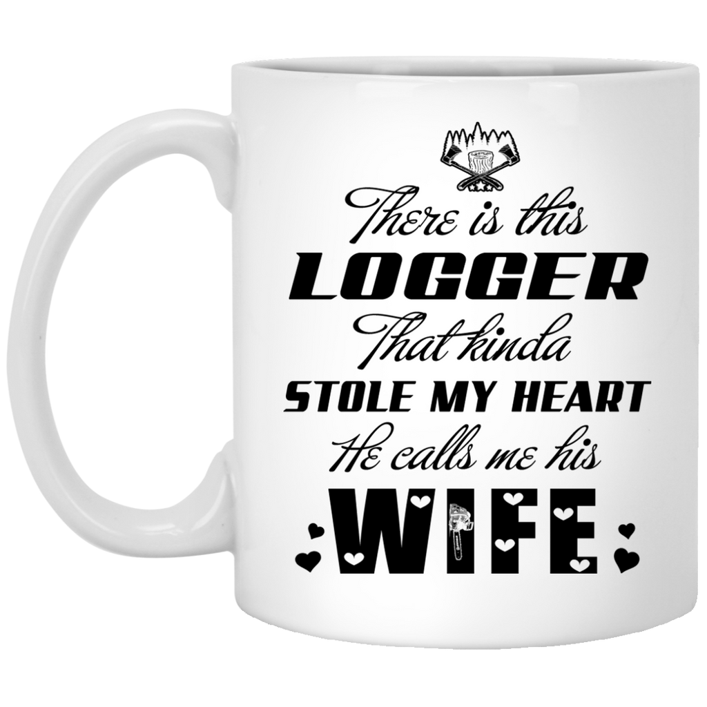 There is this Logger mug
