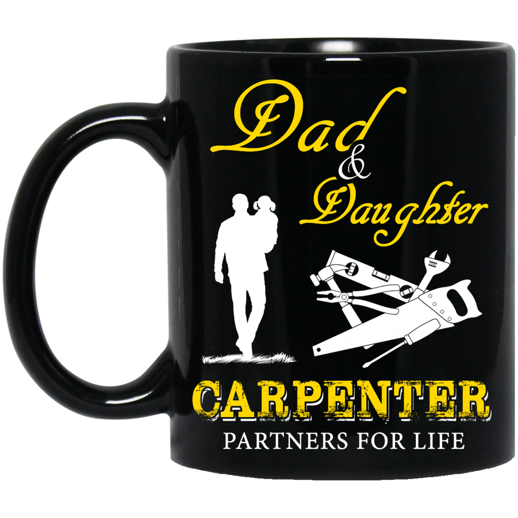 Dad and daughter Carpenter mug