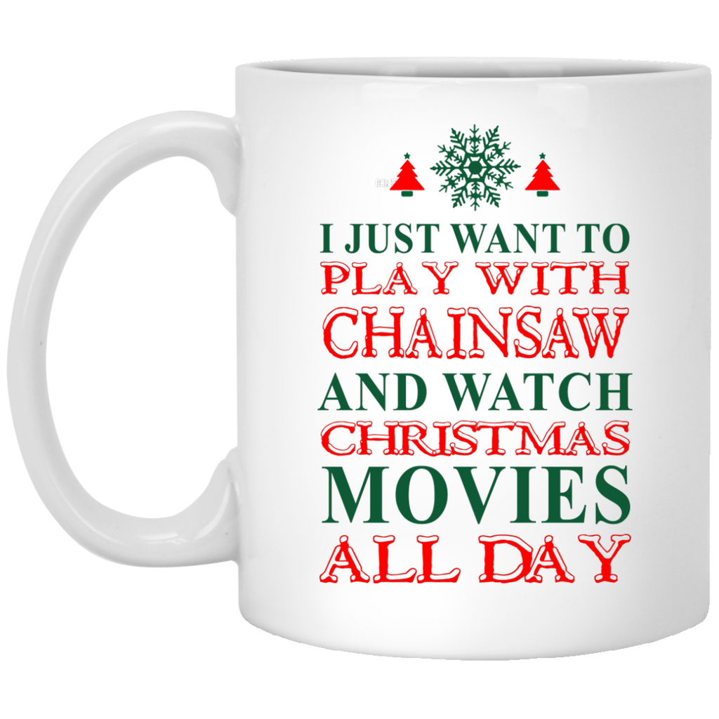 I just want ro play with Chainsaw mug
