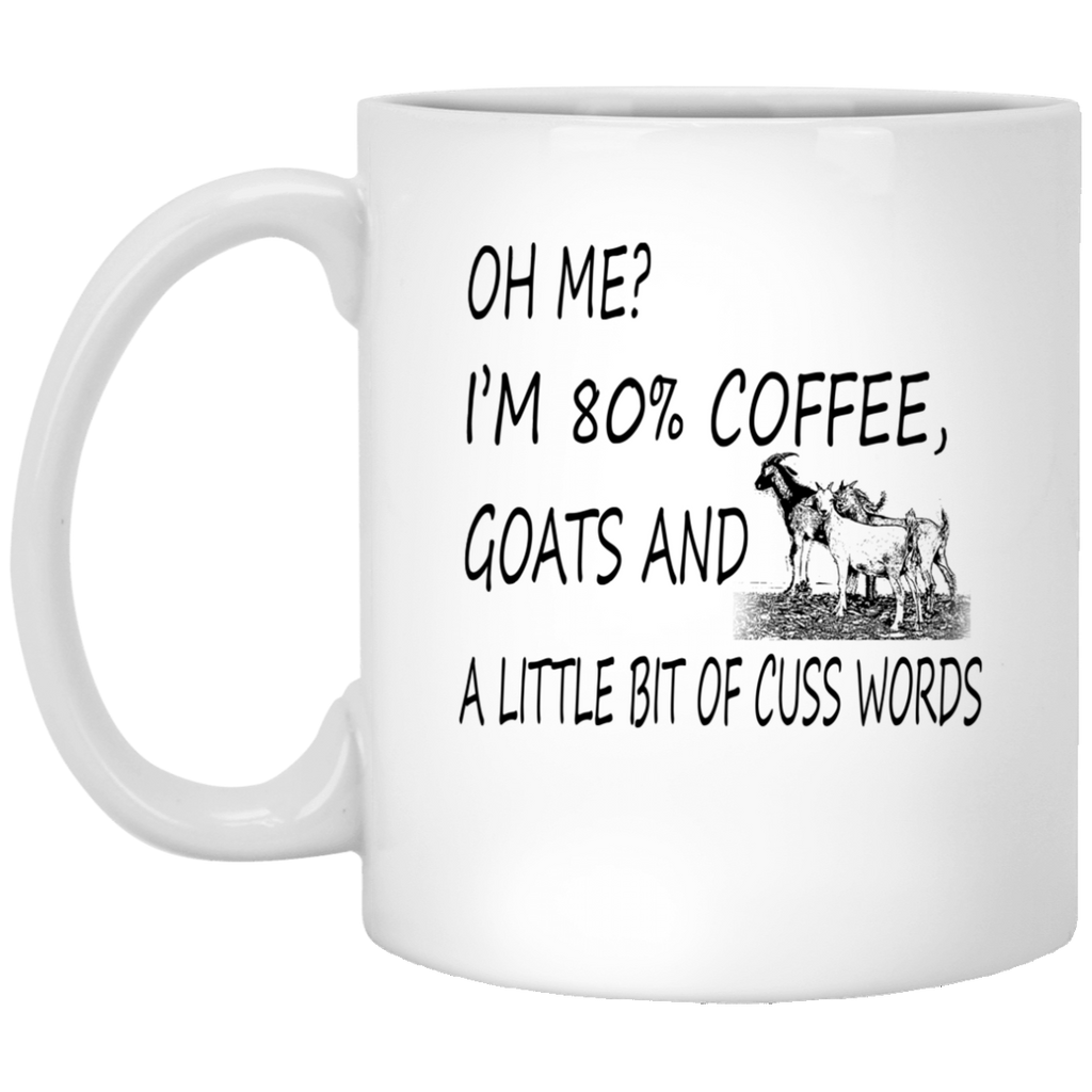 Farmer Goats - A Little Bit Of Cuss Words Mug