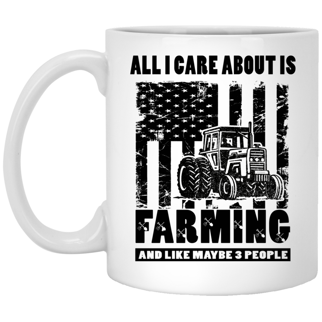 All I care about is Farming mug