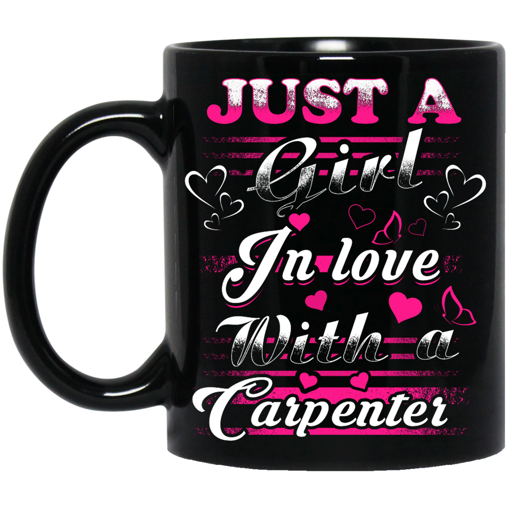 Just a girl in love with a Carpenter mug