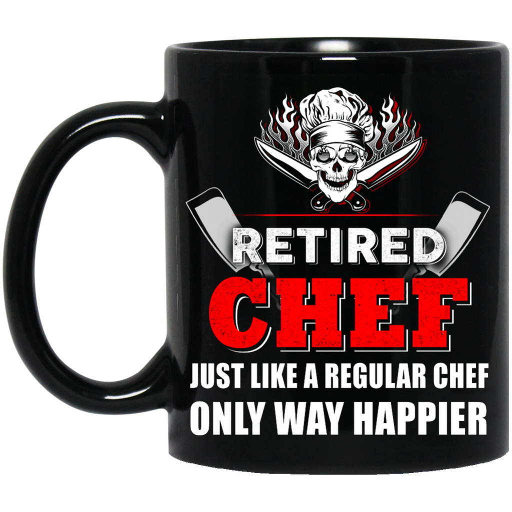 Retired Chef mug
