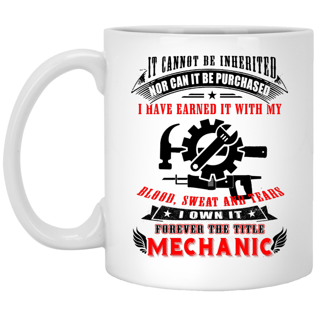 It cannot be inherited nor can it be purchased i have earned it with my mug