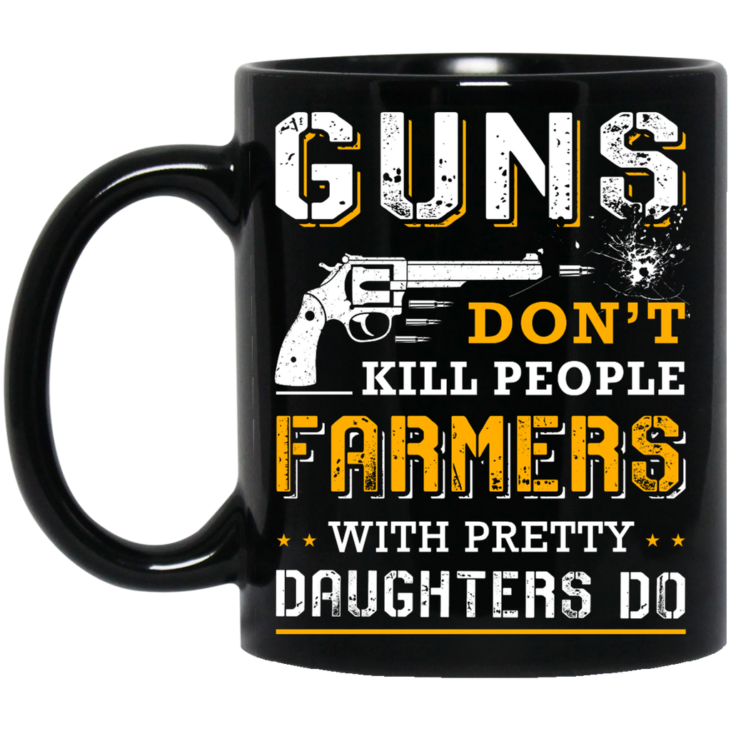 Guns don't kill people Farmers mug