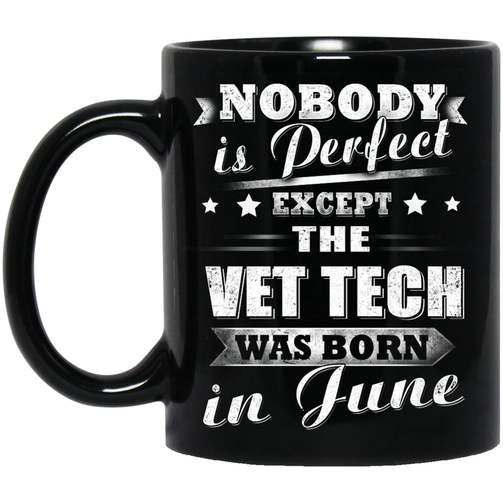 Nobody is Vet Tech mug