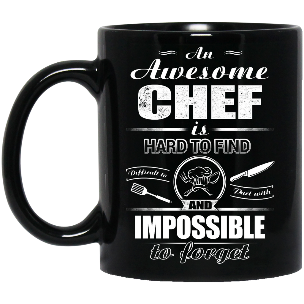 An awesome Chef is hard to find mug