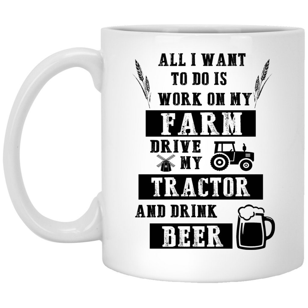 All I want to do is work on my Farm mug