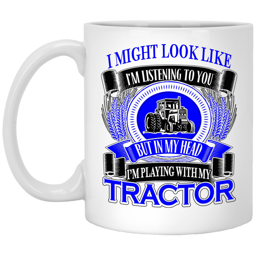 I might look like Tractor mug