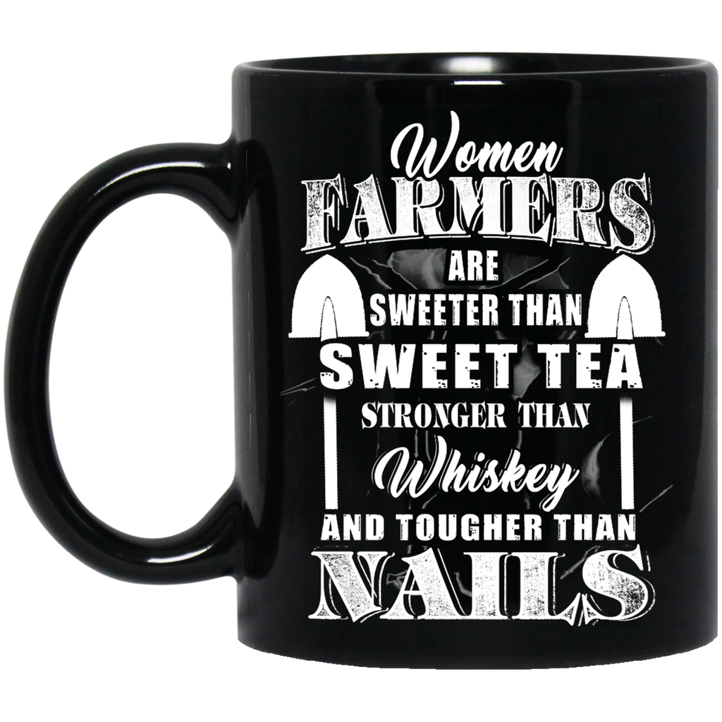Women Farmers are sweeter than sweet tea mug
