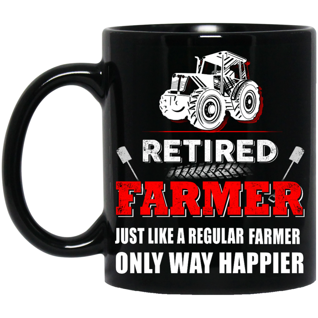 Retired Farmer mug