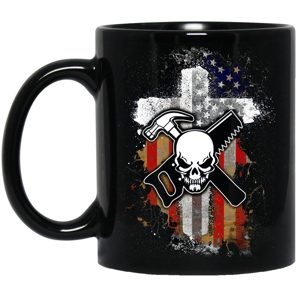 Carpenter flag mug