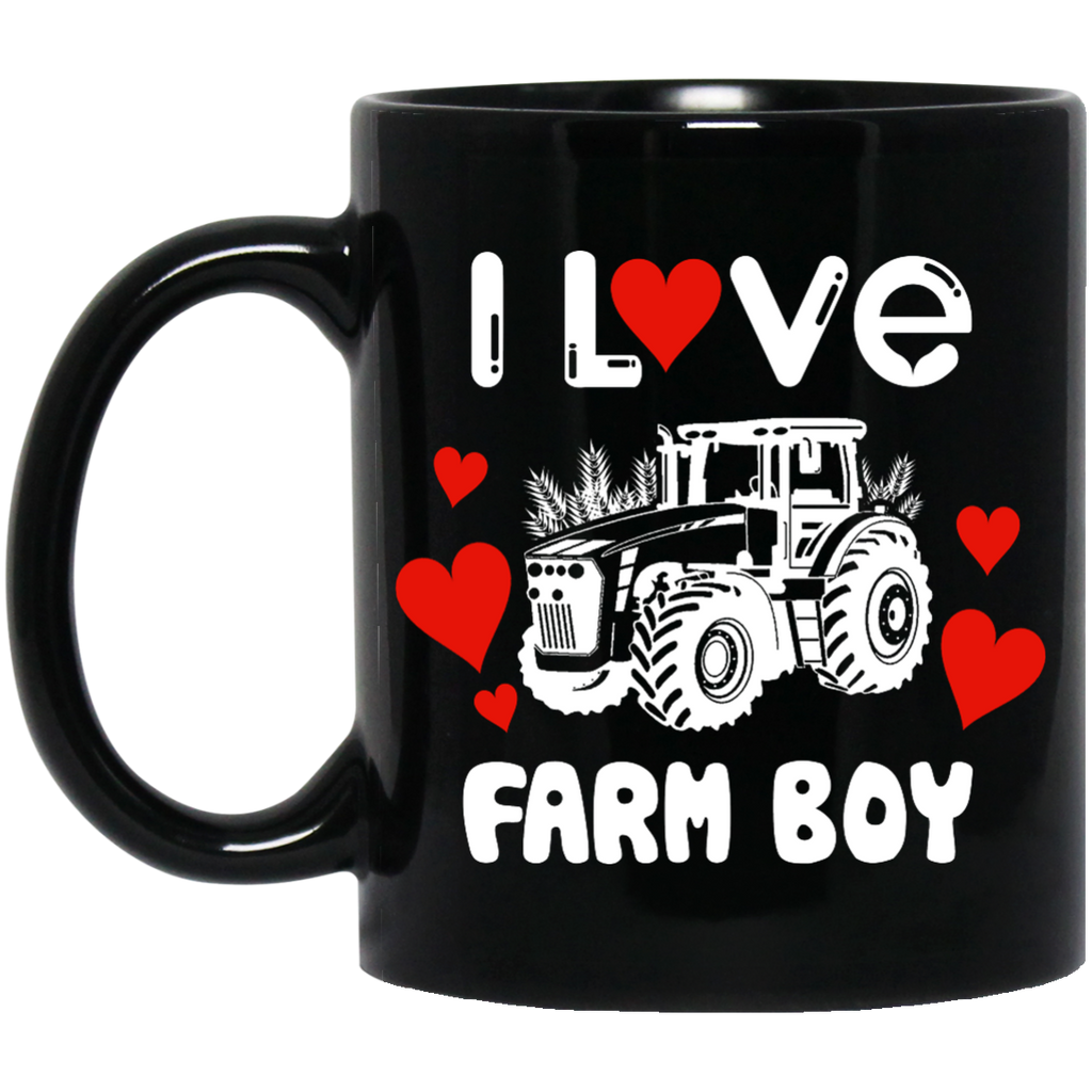 I love Farm boy mug