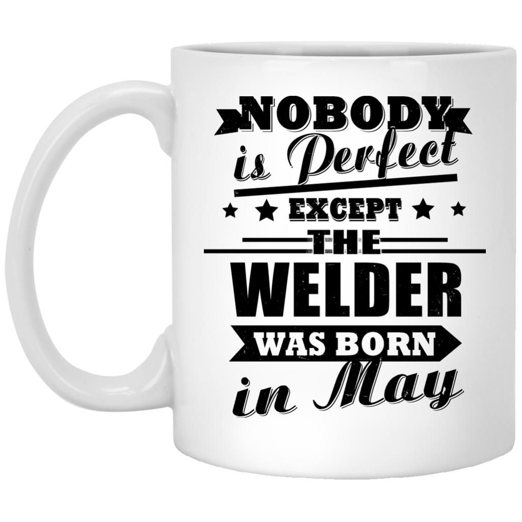 Nobody is perfect Welder mug