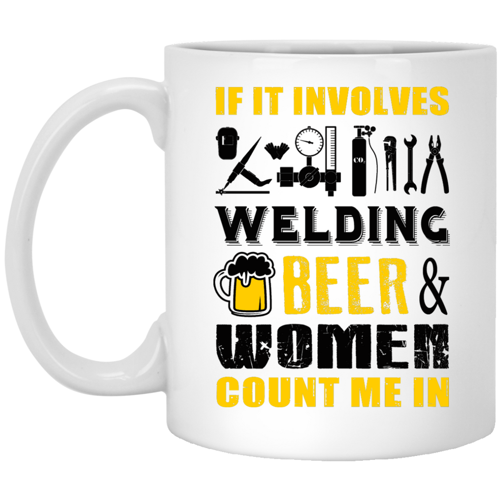 If it involves Welding mug
