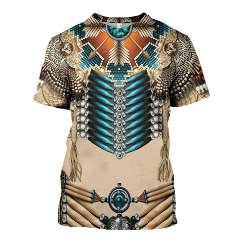 Image of Native American 3D T-Shirt