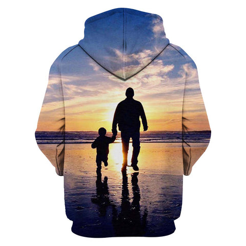 Image of Dad And Son Hoodie