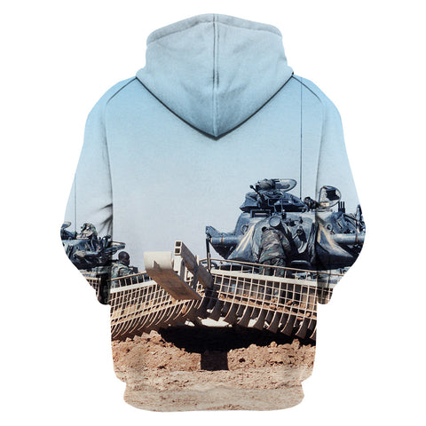 Image of Combat Engineer Working Hoodie