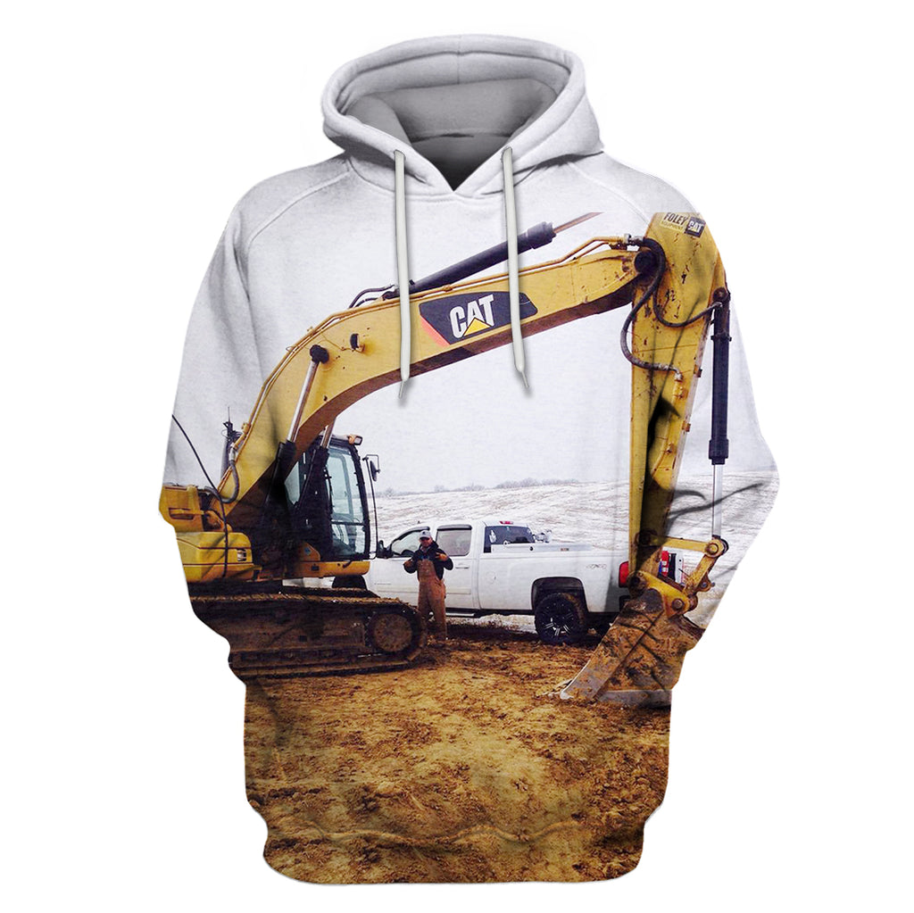 Good Heavy Equipment Operator Excavator Working Hoodie