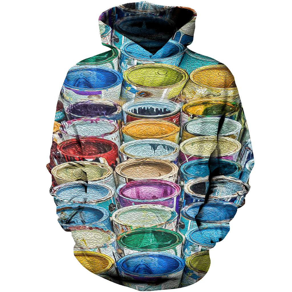 Paint Box 3D Hoodies