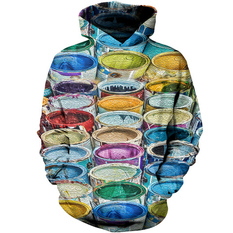 Image of Paint Box 3D Hoodies