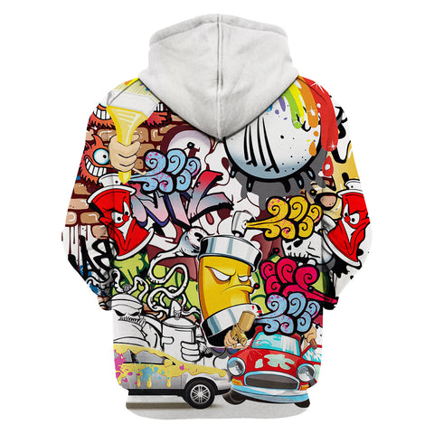 Painter Colorful 3D Hoodies